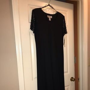 Black  evening gown, New With Tags